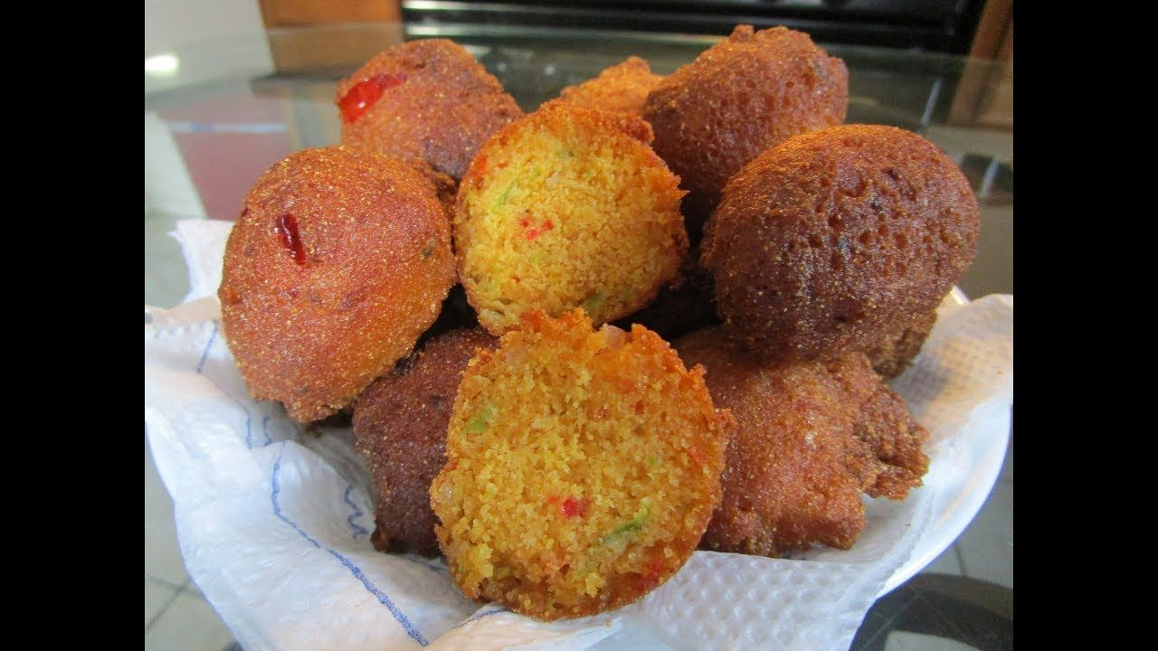 How to make Hush Puppies Hush puppies, Stuffed peppers