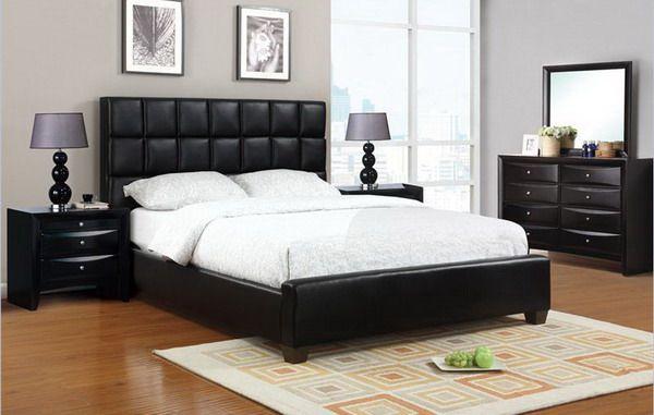 Furniture Black Bed