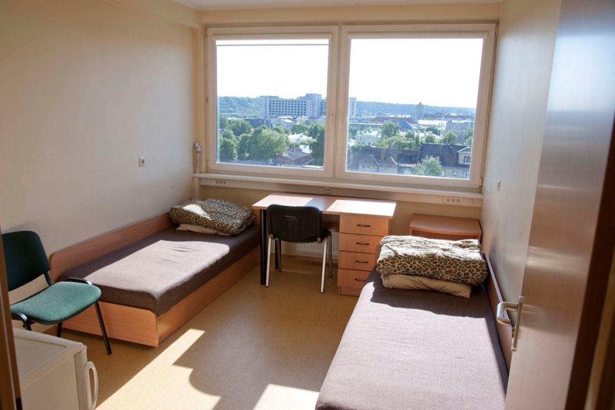 Vmu Dormitory Baltija Dormitory Windows