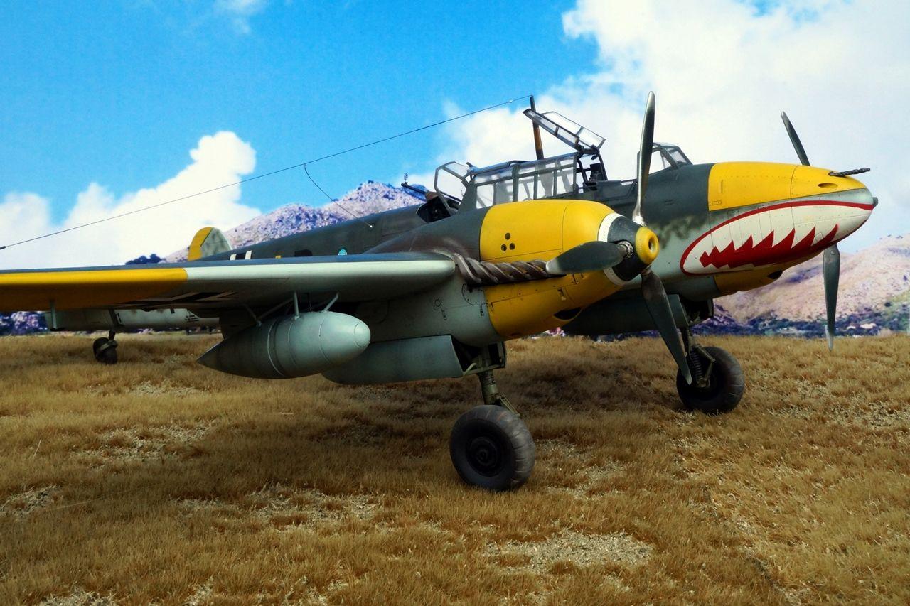 Messerschmitt Bf 110D-3 1/32 Dragon by Mikester from http ...
