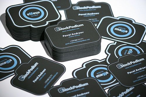 Cut Camera Shaped Business Card Design For A Photography Repinned By Beeler