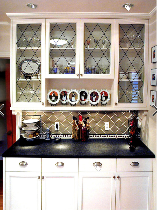 pin by yanel rios on cabinet ideas decor kitchen cabinets glass inserts built in buffet on kitchen cabinets glass inserts id=90461