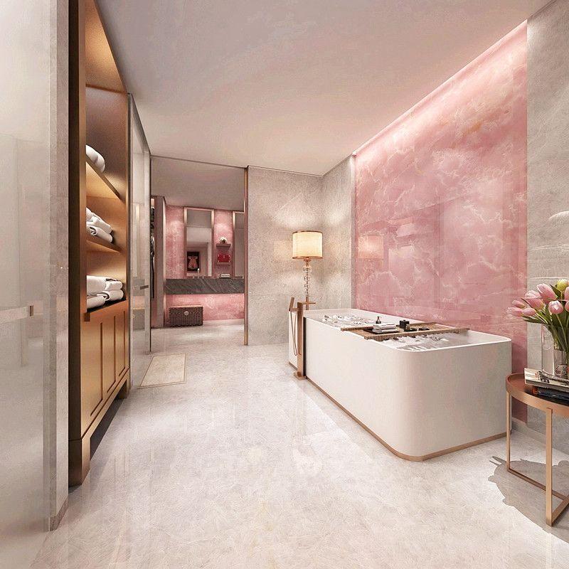 Elegant And Special Pink Onyx Tile Description Polished Glazed