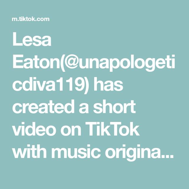 Lesa Eaton Unapologeticdiva119 Has Created A Short Video On Tiktok With Music Original Sound Duet With Faithfocusfi Trump2020 Save The Children Music Love