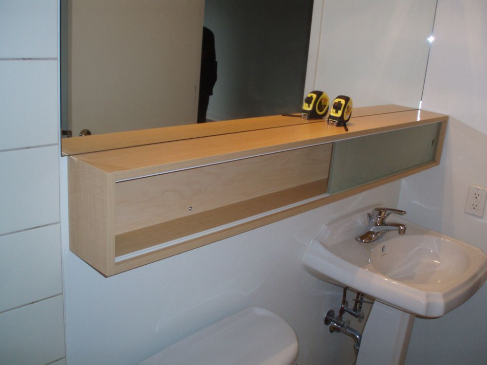 Bathroom Diy Removing A Builder 39 S Mirror From The Wall Bathroom Renos Bathroom Panel Curtains