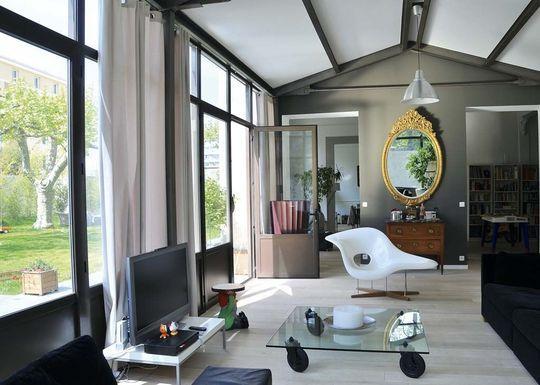 Agrandissement de maison 12 v randas de pointe extension la maison s 39 agrandit extension - Agrandissement maison veranda ...
