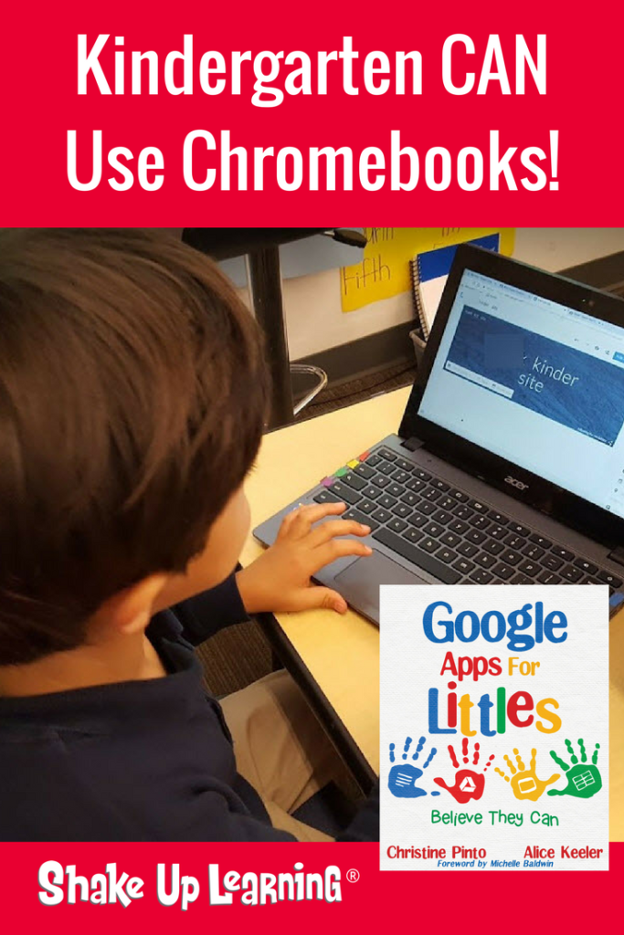 Yes, Kinder Can Use Chromebooks! Chromebook