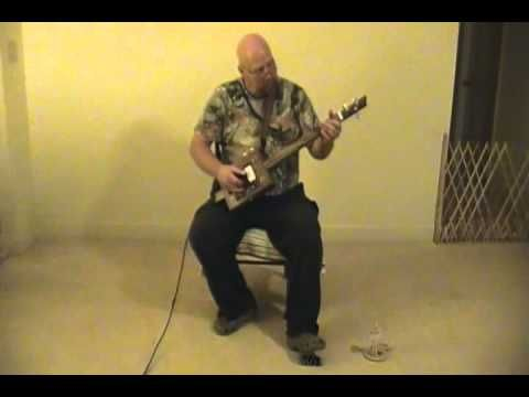 Man of Constant Sorrow on Cigar Box Guitar - YouTube | Cigar Box ...