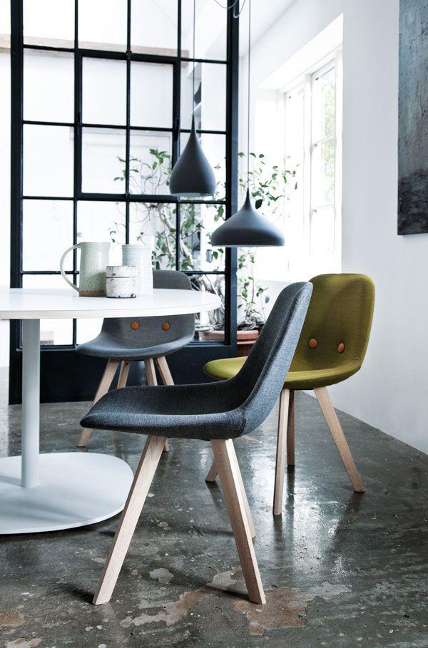 Eyes Wood Chair by Erik Jrgensen Eyes