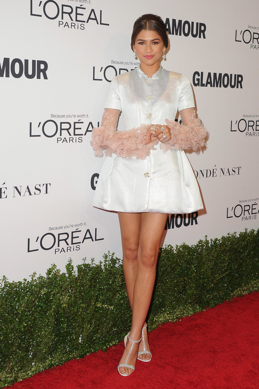 Zendaya, Ariel Winter and Cara Delevingne Won the Glamour Women of the Year  Awards Red Carpet | Teen Vogue