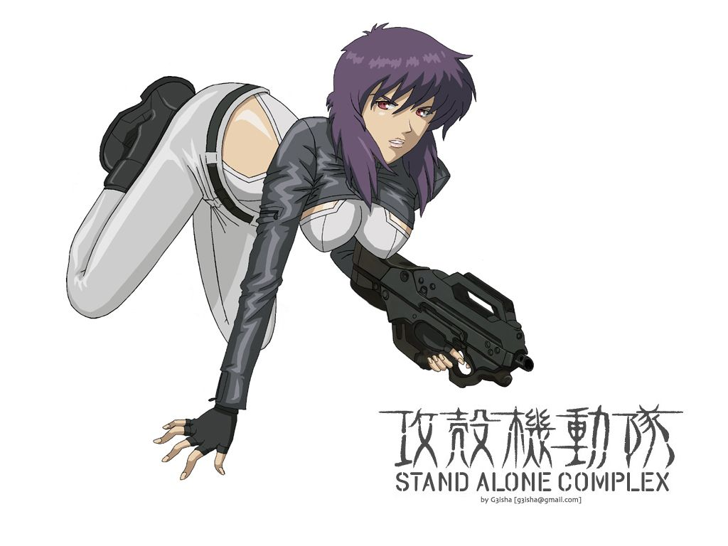 Image result for Ghost in the Shell: Stand Alone Complex pinterest