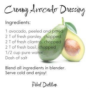 Creamy avocado salad dressing raw vegan salad dressings creamy avocado salad dressing raw vegan forumfinder Choice Image