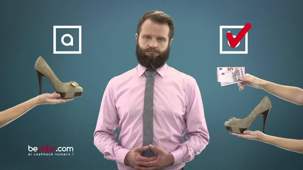 Spot publicitario de beruby, el cashback número 1 de España