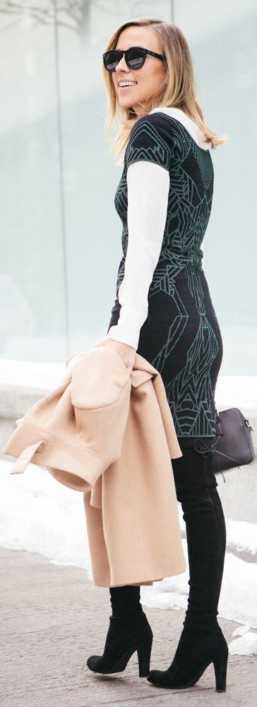 DVF Bodycon Knit Dress by Damsel In Dior