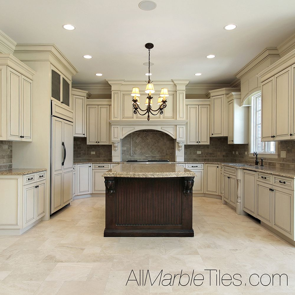 28 Antique White Kitchen Cabinets Ideas In 2019: AllMarbleTiles.com Kitchen Tiles, Marble & Glass