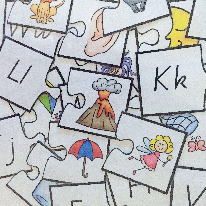 Alphabet Puzzple Printables For The Kindergarten Prep Or