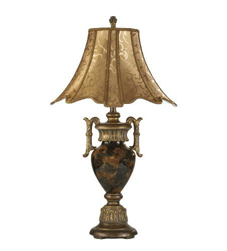 Ashley Industries: Get It Now Ashley L520934 Traditional Table Lamp, Amber