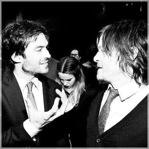 Ian and Norman