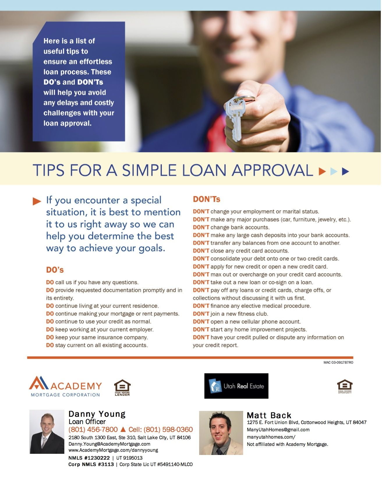 Dos and donts to help you homebuyers avoid delays and