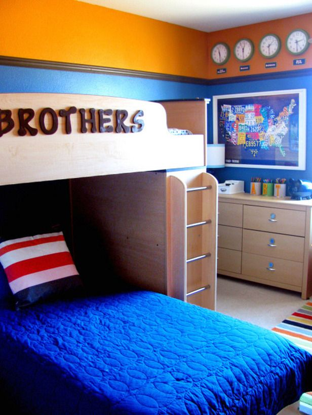 Designing A Shared Space For Kids Boys Bedroom Colors Boy Room