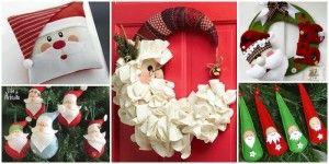 DIY-Santa-Claus-Sewing-Patterns-and-Ideas