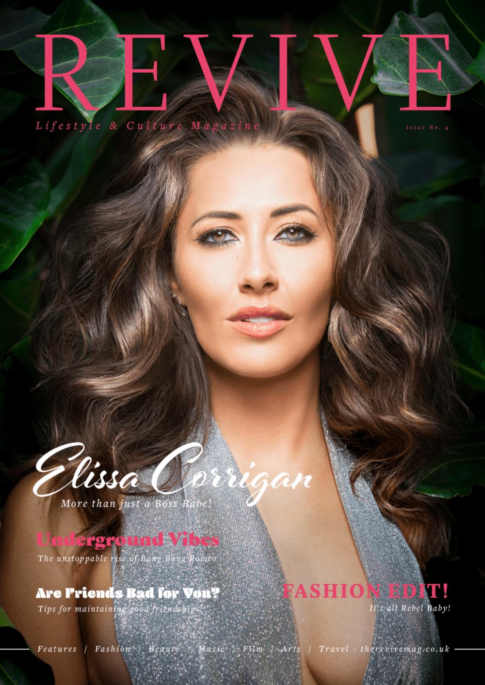 Revive Magazine, Featuring Bear Grylls Survivor, Elissa