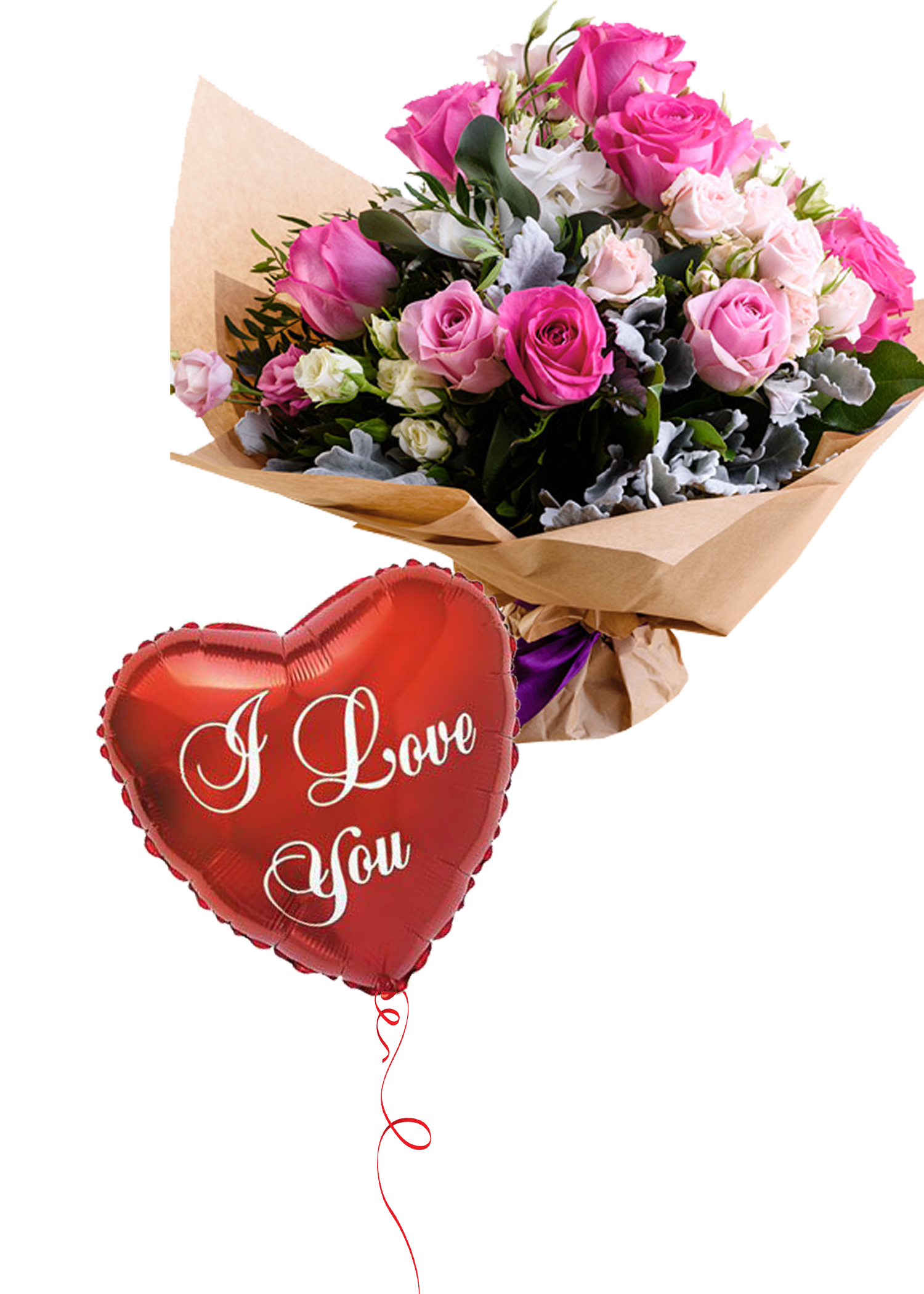 Precious floral bouquet flower delivery dubai pinterest precious floral bouquet aed 19000 with free balloons free delivery all izmirmasajfo