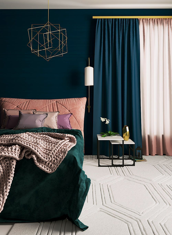 Unique Home Decor in 5  Teal bedroom decor, Teal bedroom walls