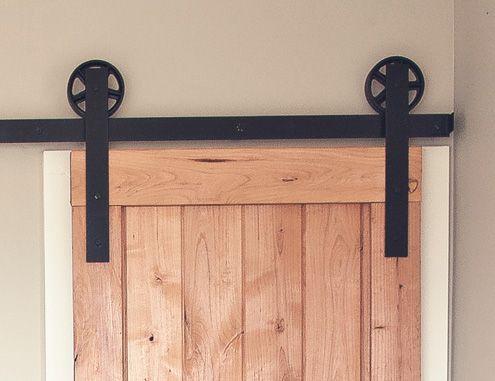 Vintage Barn Door Hardware For Barn Door From Master Bedroom To Master Bath