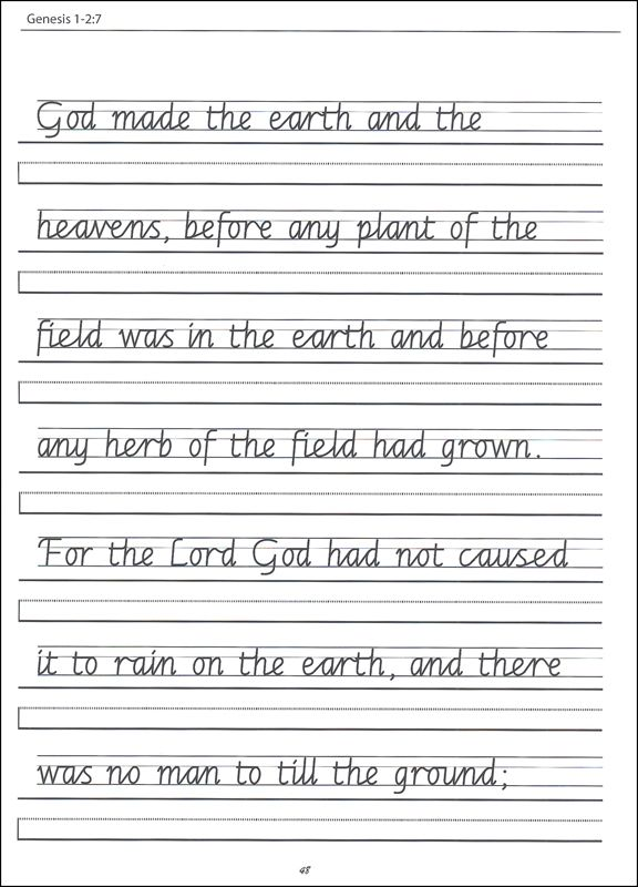 Scripture Character Writing Worksheets Getty Dubay Italic – Cursive Writing Worksheets