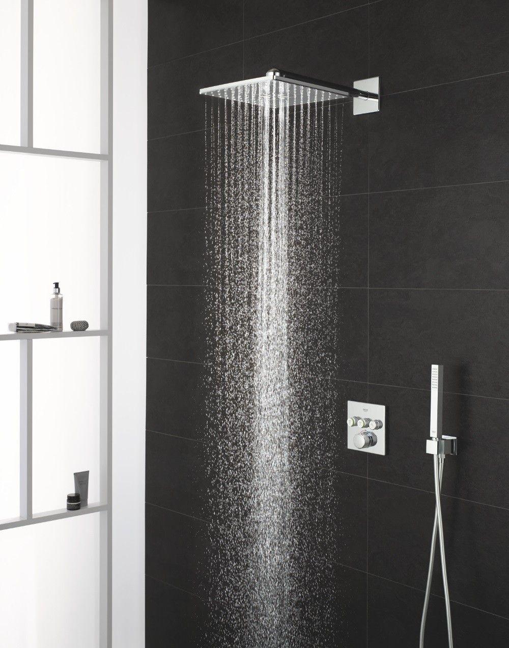 Heerlijk douchen met het nieuwe douchesysteem van Grohe. Inbouw ...