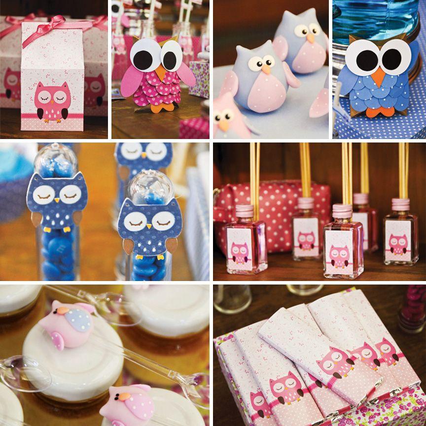 sweet pink blue owl dessert table owl desserts dessert table