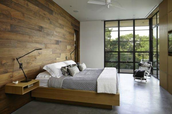 madera en las paredes trucos para decorar