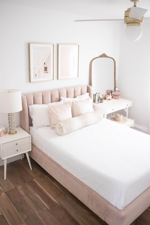 Blush And Gold Bedroom Ideas De Muebles De Dormitorio