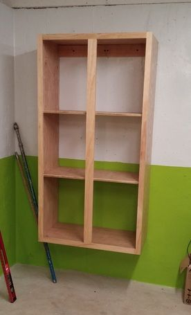 Ryobi Nation Easy Affordable One Sheet Plywood Storage Shelves Plywood Storage Shelves Plywood Projects