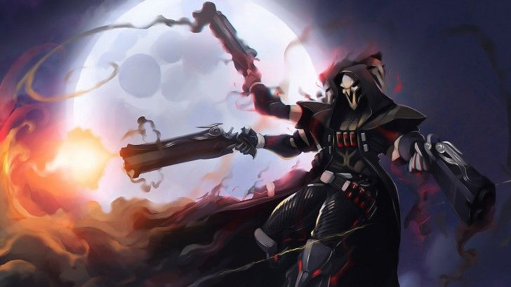 Download Reaper Overwatch Game Art Game Picture 1920x1080