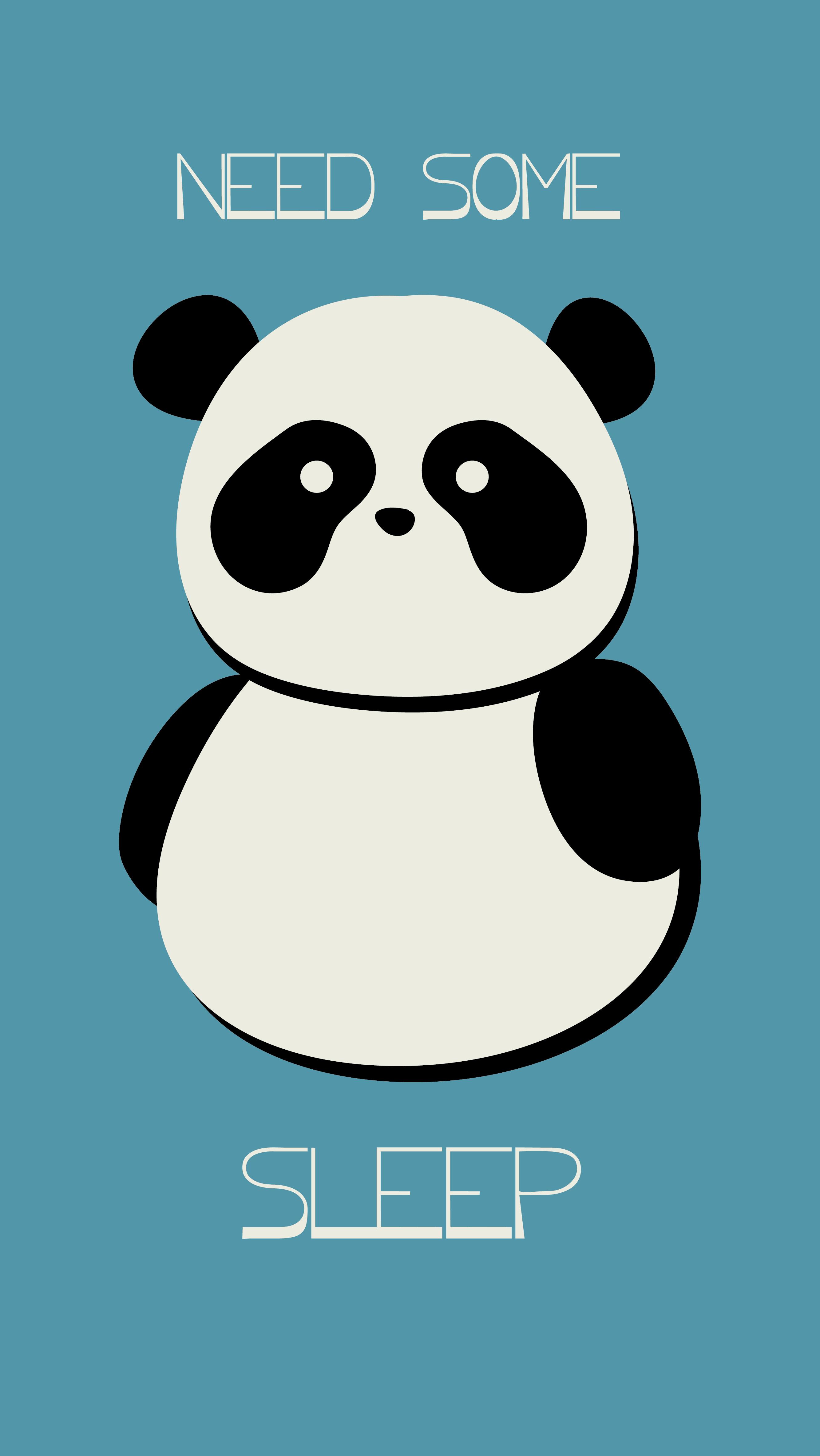 Panda phone wallpaper by las12enpunto Phone Wallpapers