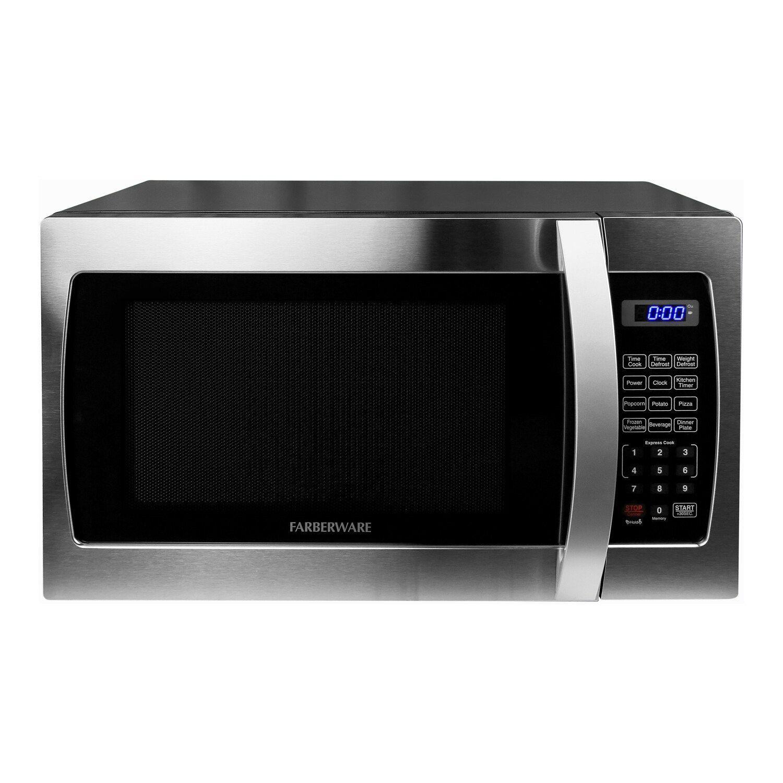 Farberware Professional 1000 Watt Microwave Oven In 2020 Microwave Microwave Oven Farberware