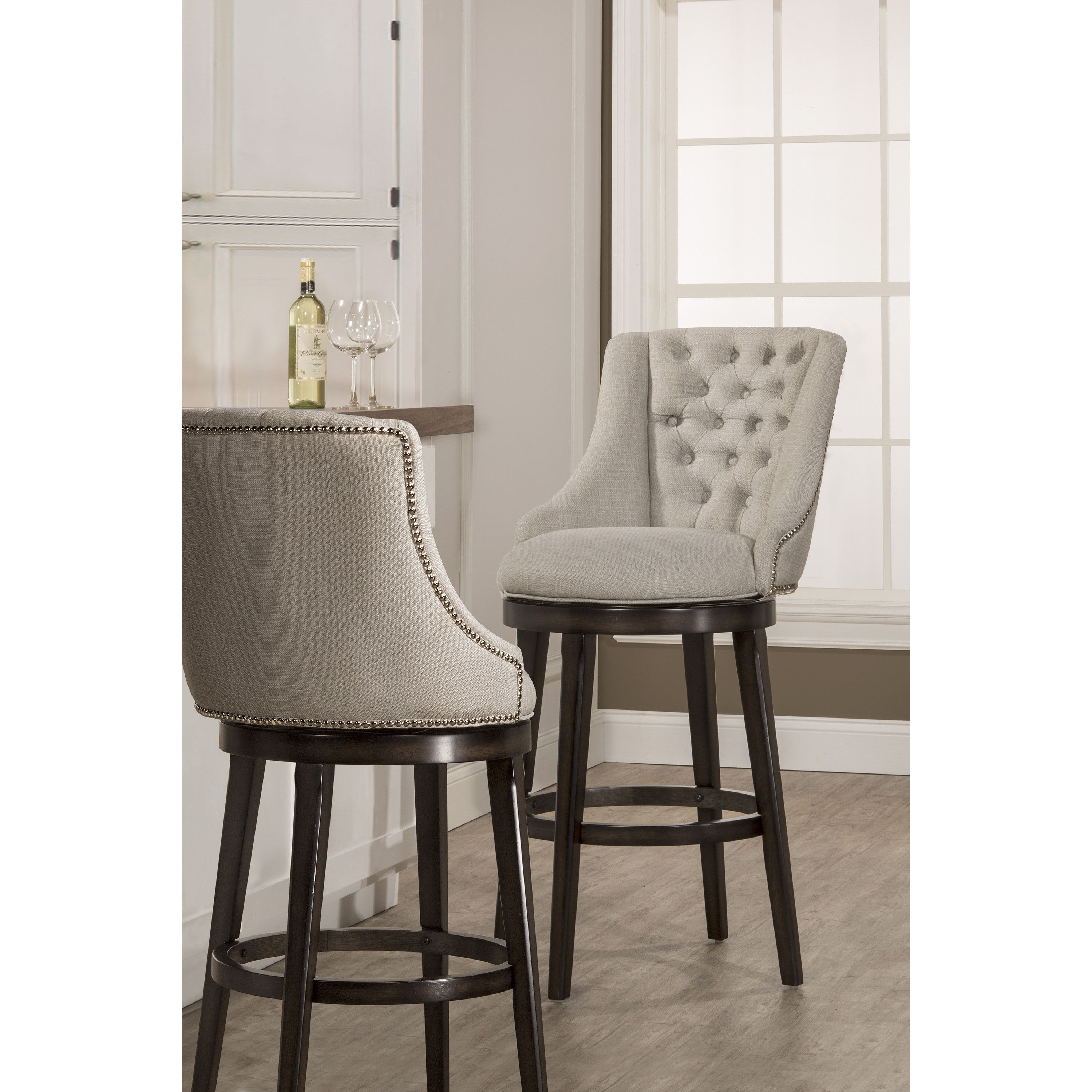 Darby Home Co Daniel 25 Quot Swivel Bar Stool Bar Stools With