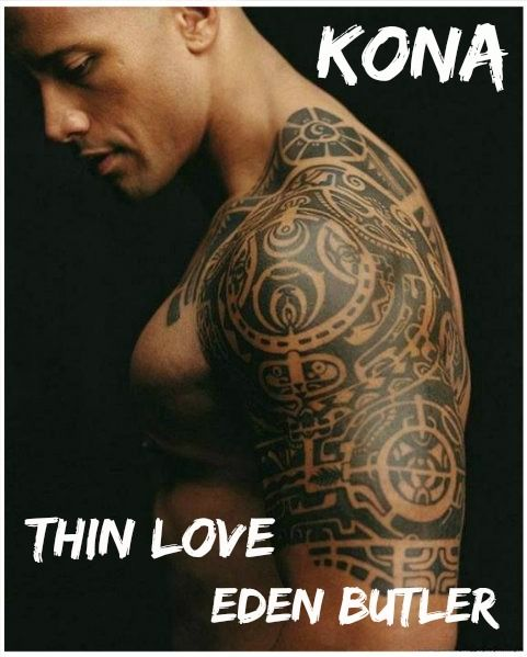 Kona Casting From Thin Love By Eden Butler Made By Dana Red Cheeks Reads The Rock Dwayne Johnson Tribal Tattoos For Men