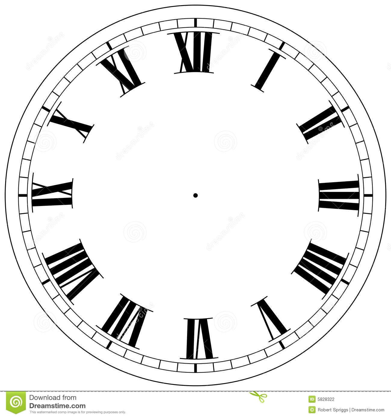 Clock face template googlesuche reloj manualidades roma