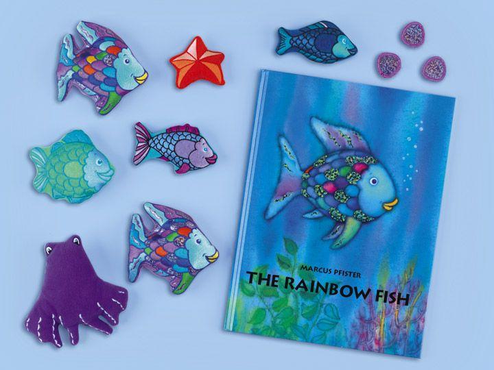 The Rainbow Fish Storytelling Kit With Images Rainbow Fish