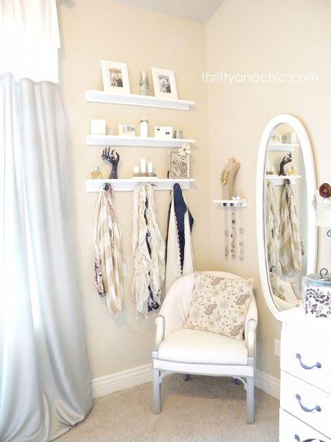 Jewelry Organizer Shelves Bedroom storage Jewelry accessories and