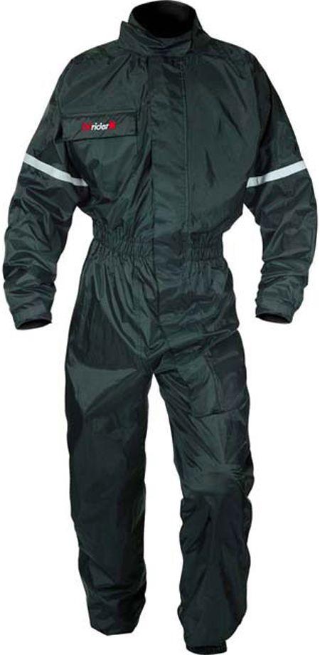 Dririder Hurricane Waterproof Rain Suit Black Rain Suit Riding Gear Black