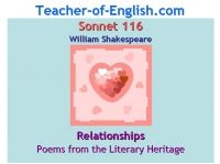 English GCSE Teaching Resources PPT: Sonnet 116 (William Shakespeare ...