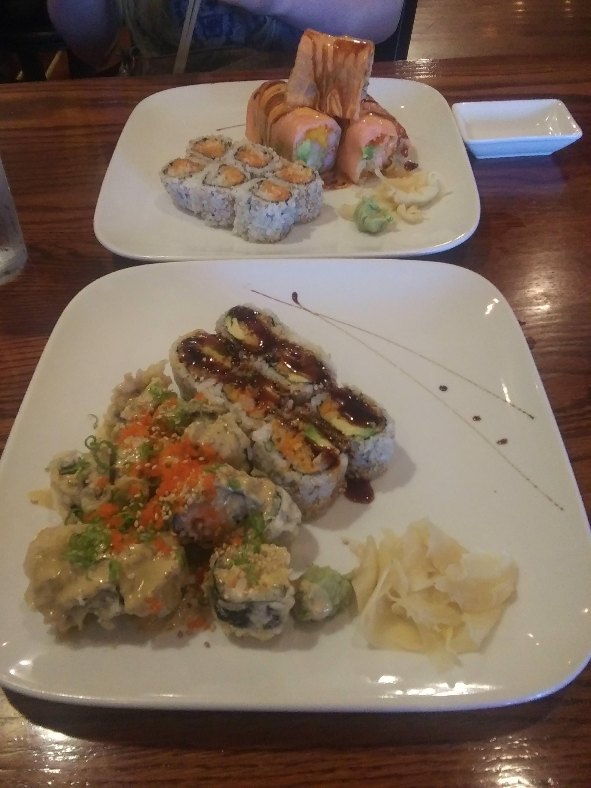 Banbu Porn two rolls for $13 night at takara | best sushi