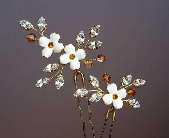 Marfil Perla Pendientes con Pasador Diamante Pedrería De Cristal Para Boda