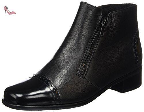 Botte femme - Noir (Noir/Noir), 39.5 EU (6 UK)Semler