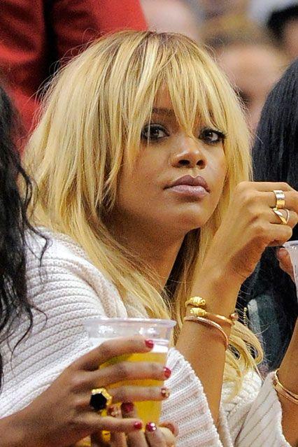 Rihanna New Blonde Hairstyle Celebrity Hair Trends Boho