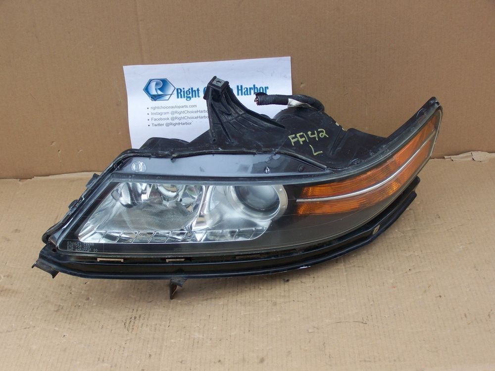 Acura TL Headlight Assembly HID Xenon Left LH OEM RCH Hid - Acura tl headlight replacement